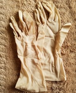 Vintage lightweight dress gloves